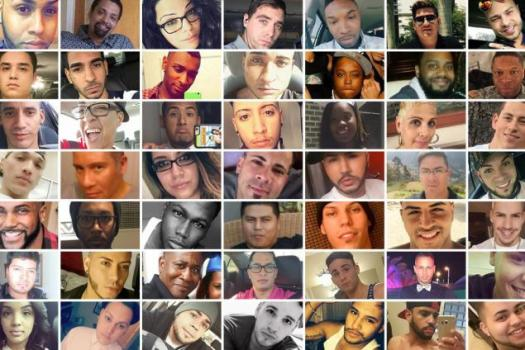 The deceased victims of the Pulse shooting in Orlando, Florida. (Source: NY Daily News)