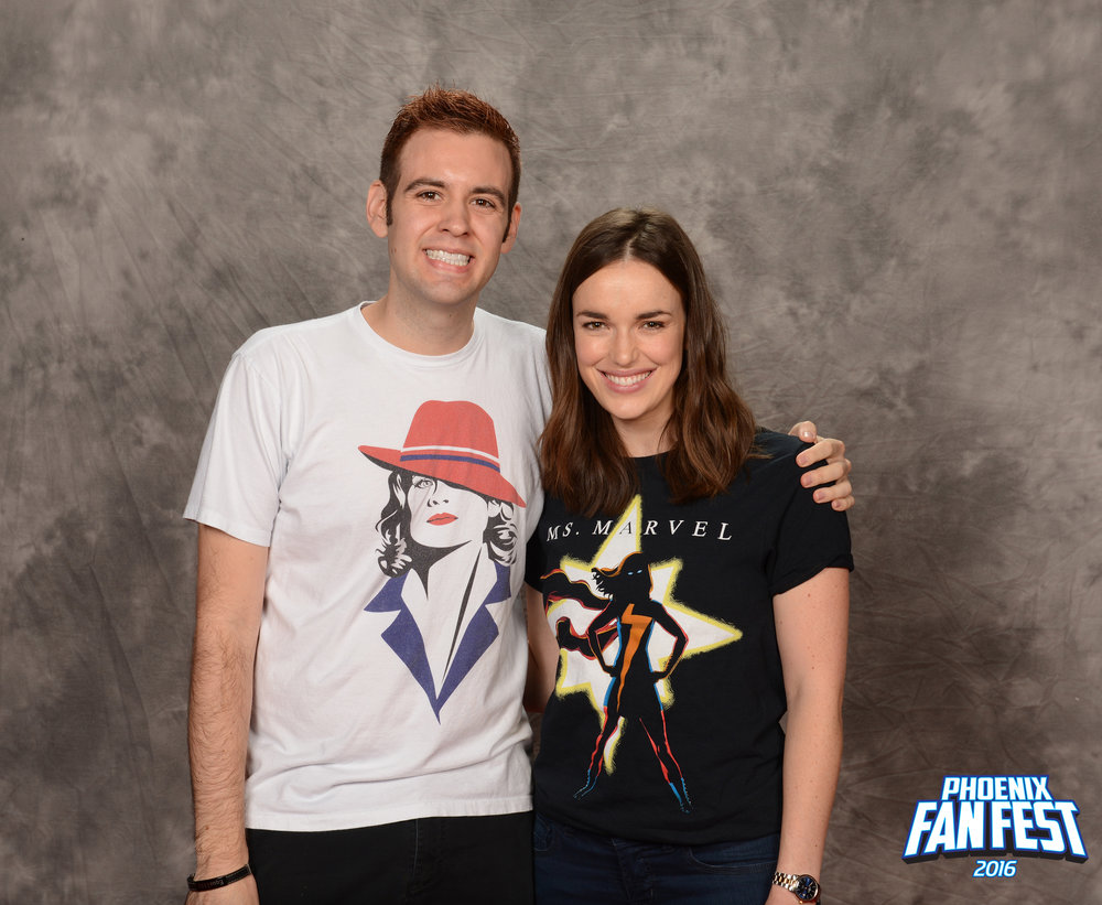 Cheesin' with Elizabeth Henstridge (AKA: Jemma Simmons from  Agents of S.H.I.E.L.D !