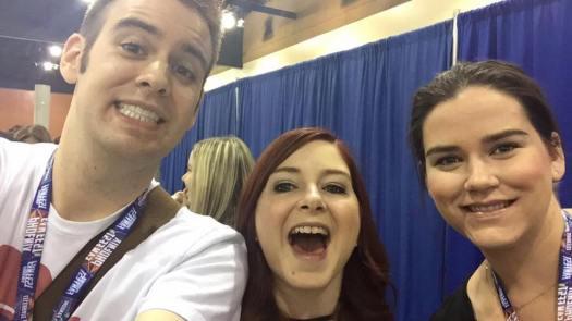 Da Phoenix Fan Fest Crew! Me, Tori, and Maddy!